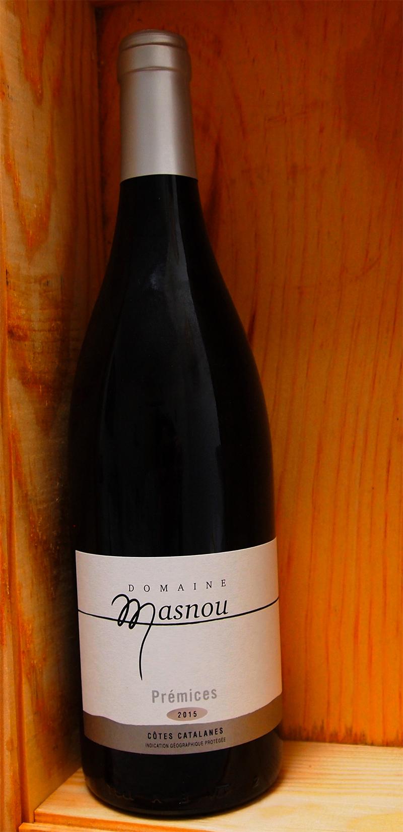 Domaine Masnou Premices Blanc 2015 - Vins du Roussillon