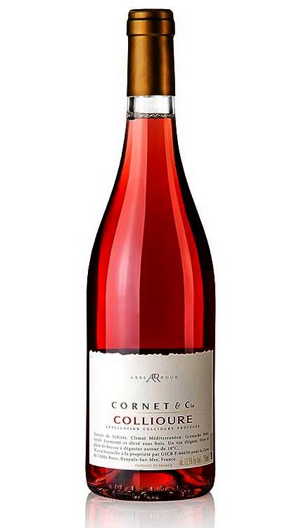 Vins du Roussillon _ Cornet Rosé L'Abbé Rous