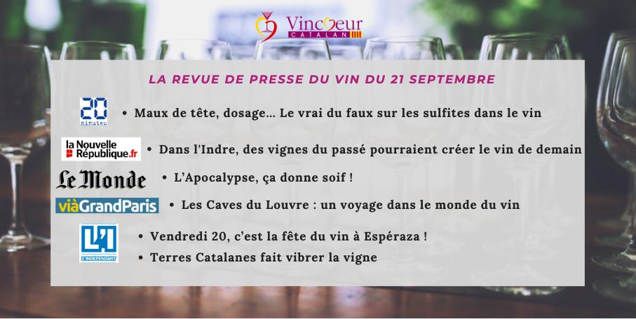Toute l'actualité du vin en France.