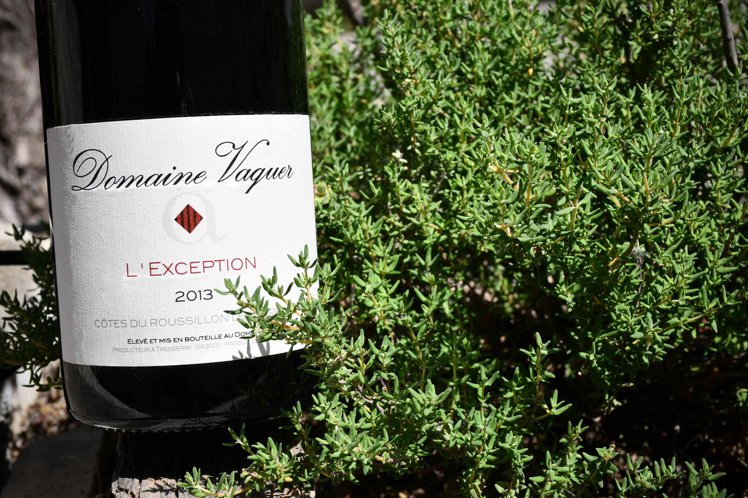 Domaine Vaquer - L'exception 2013