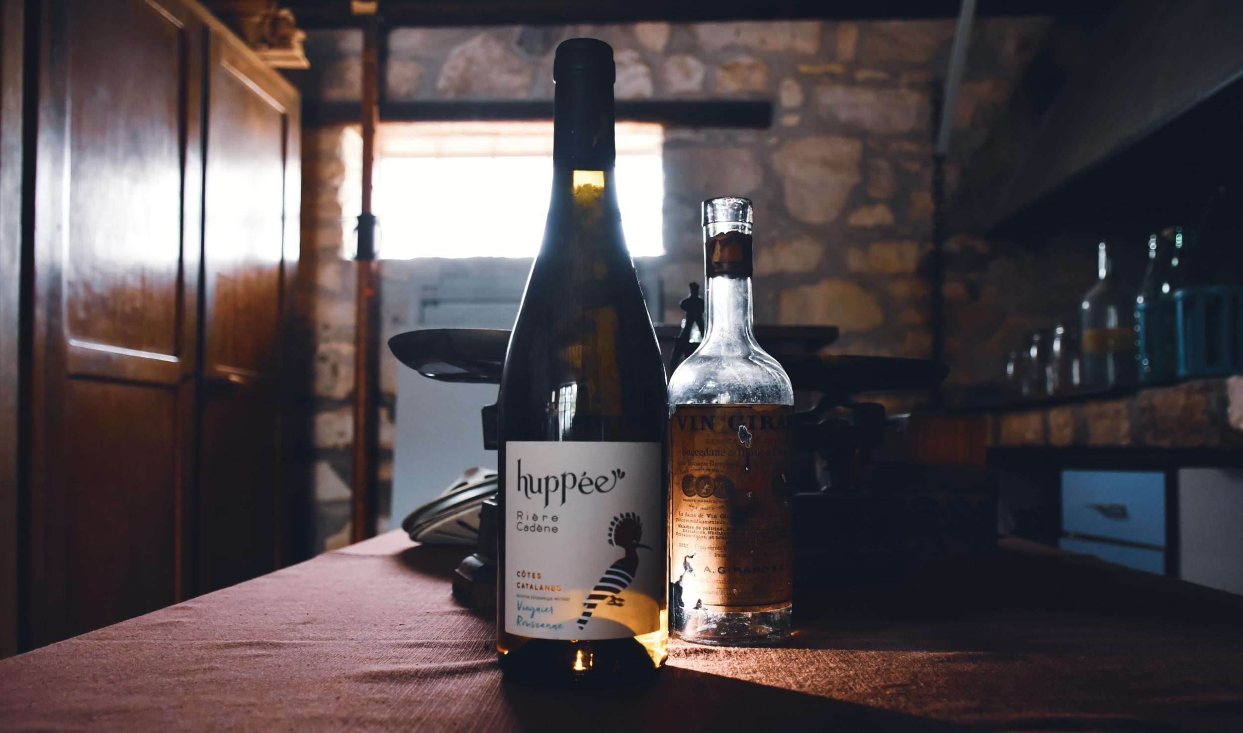 Côtes catalanes - Huppée Domaine Rière-Cadène blanc